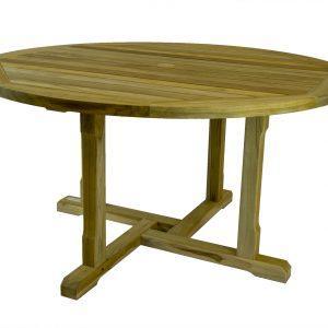 Saltram Round Teak Table With Hole