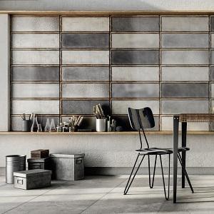 Gray Diesel Living Ceramic Tile
